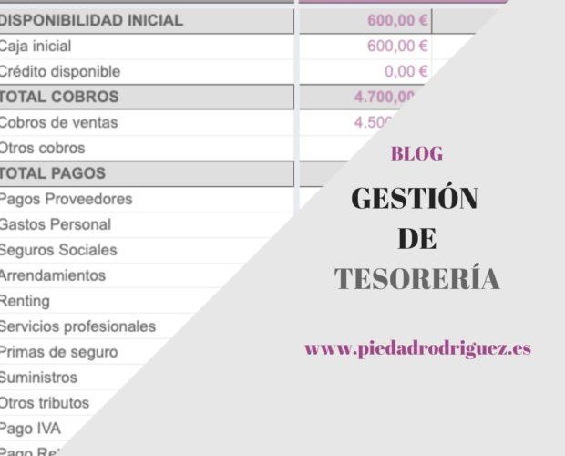 GESTIÓN TESORERIA CORONAVIRUS EMERGENCIA LIQUIDEZ NECESIDADES