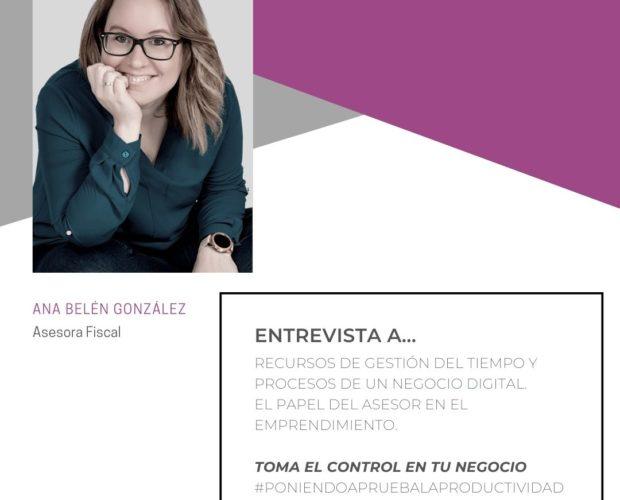consultoria blogger entrevista herramientas digitales negocio digital gestión financiera autonomos